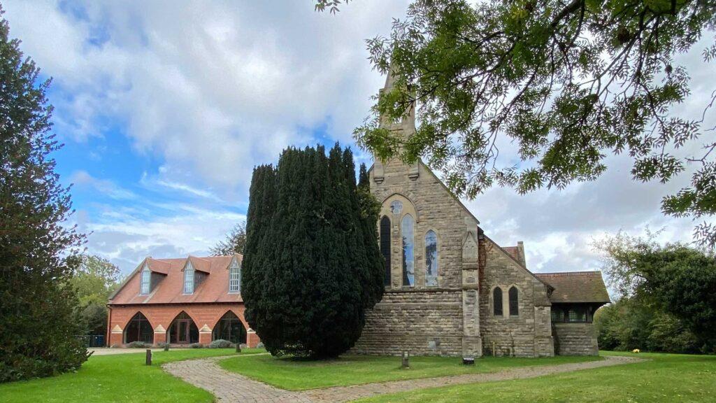 St. Thomas' Church on Main Street.